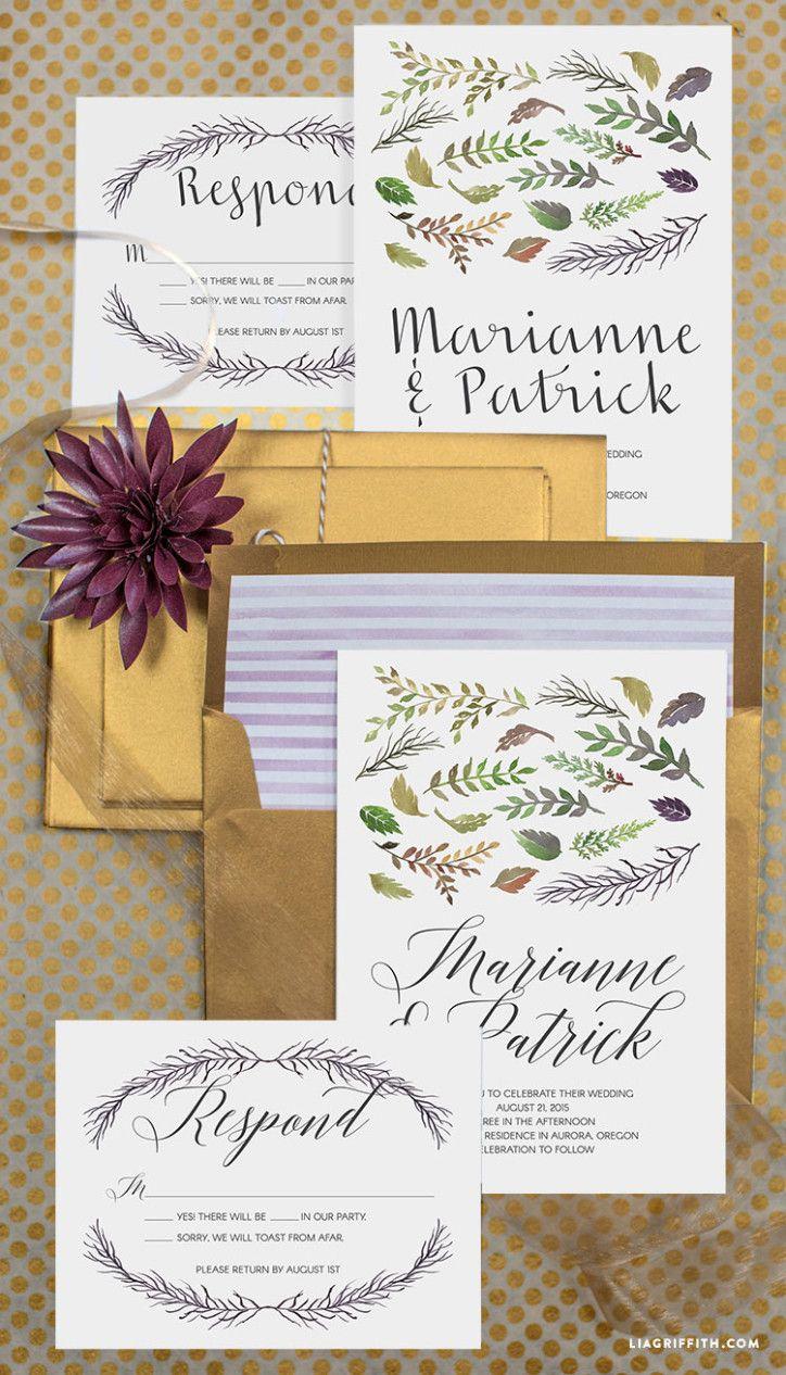 Weddinginvitation Craft Ideas
