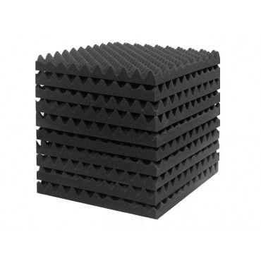 Acoustic Foam Sound Absorption Panels 10PCS 50x50CM