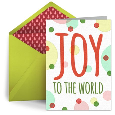 We Canu0027t Get Enough Of This Free Christmas Card With A Spirited Design.