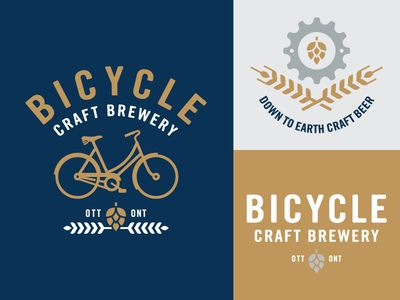 Bicycle Craft Brewery Logo