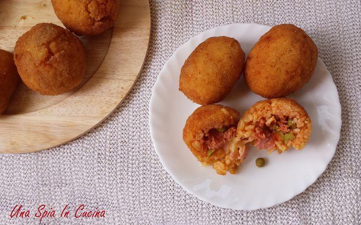 Arancine siciliane - ricetta di famiglia