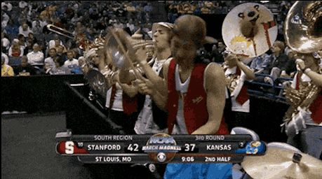 The Wildly Enthusiastic Stanford Cowbell Player Is The Real Star Of March Madness