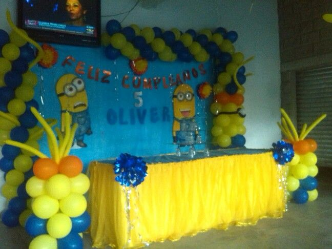 Minions Decoracion Para Fiestas ~ Minions on Pinterest