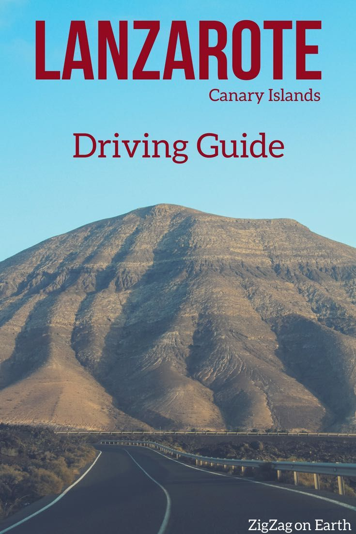 Driving in Lanzarote – practical guide : road conditions, rules, car hire  tips, dangers to be aware of and a video. Don't worry it is easy !
