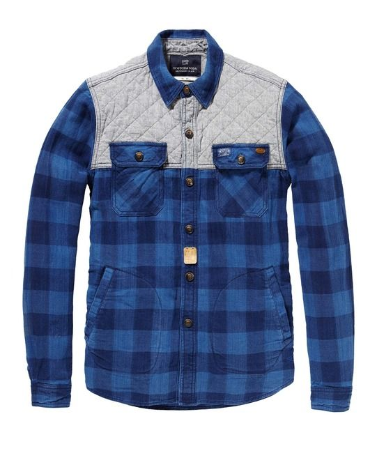 Quilted Hunting Shirt > Mens Clothing > Blazers at Scotch & Soda