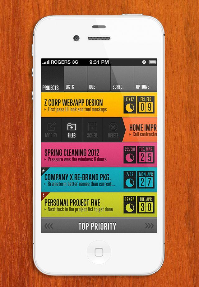 #mobile #ui #app