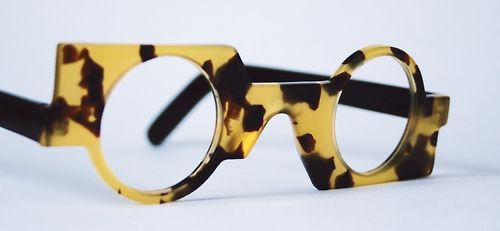 1990s asymmetrical frame from the early nineties from General eyewear's historical collection.