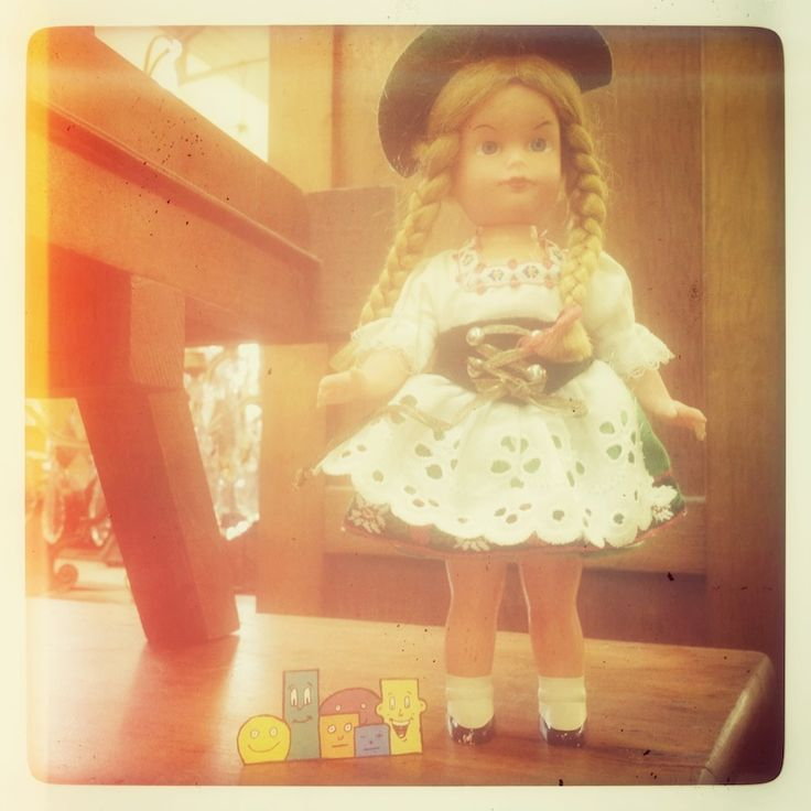 """Polaroid by MisterPresident aka Le Clou Tordu - Collection Funny Polaroid """"From doll with love"""" - www.lecloutordu.com"""