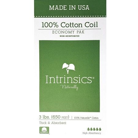 Intrinsics 100% Cotton Coil Economy Pak #100620 $12.95   Visit www.BarberSalon.com One stop shopping for Professional Barber Supplies, Salon Supplies, Hair & Wigs, Professional Product. GUARANTEE LOW PRICES!!! #barbersupply #barbersupplies #salonsupply #salonsupplies #beautysupply #beautysupplies #barber #salon #hair #wig #deals #sales #Intrinsics #CottonCoil #EconomyPak #100620