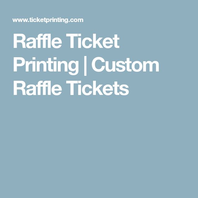 Best 25+ Raffle ticket printing ideas on Pinterest Printable - free ticket printing