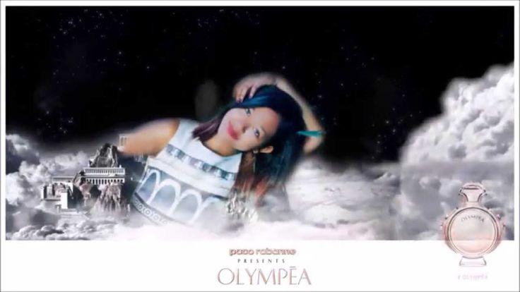 Olympéa  parfum Paco Rabanne avec Shula Rajaonah