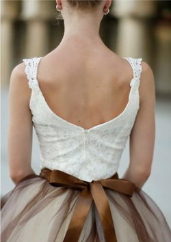 So lovely: Wedding Dressses, Fashion Shoes, Tulle Skirts, Style, Bridesmaid Dresses, Ribbons, Chocolates Brown, Bows, Girls Shoes