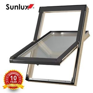 Wooden Timber Roof Window 78cm x 98cm Flashing Tile & Slate Velux style skylight on Sale - http://uhotdeals.co.uk/code/wooden-timber-roof-window-78cm-x-98cm-flashing-tile-slate-velux-style-skylight-on-sale/