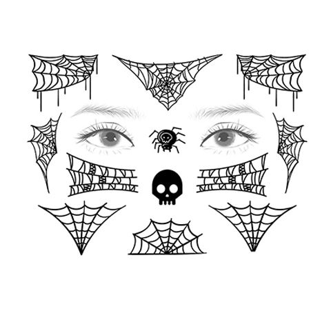 Spirit Halloween Spider Temporary Tattoos Serise 7 In 2020 Halloween Spider Spirit Halloween Spider Tattoo