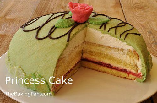 Princess Cake Recipe | Prinsesstarta | TheBakingPan.com