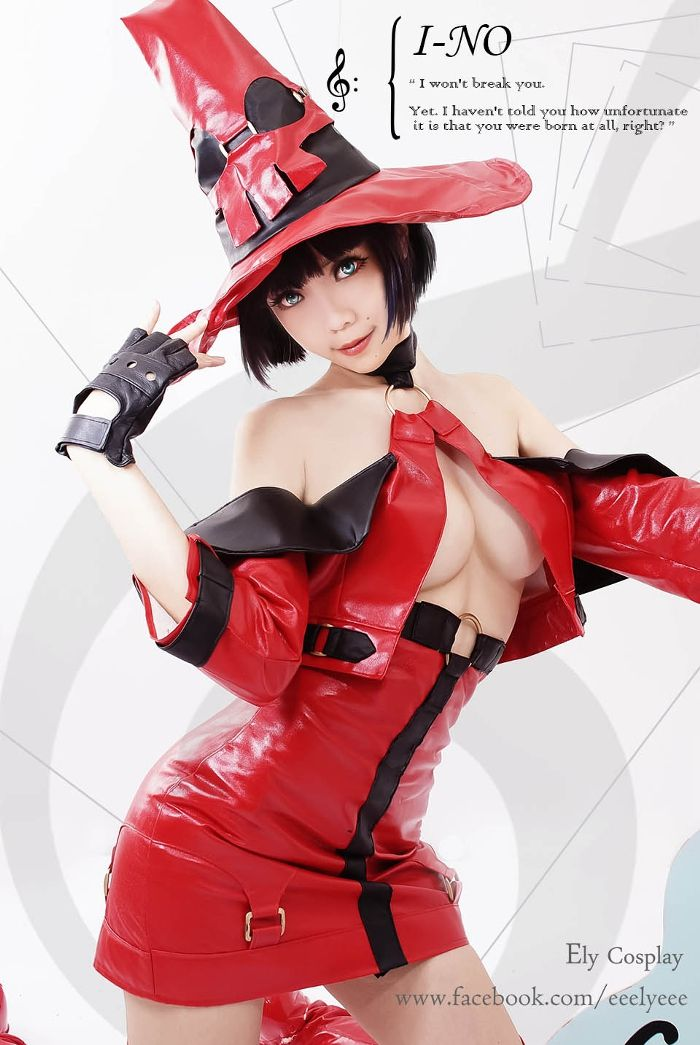 [E子] GUILTY GEAR XX: I-NO - コスプレCure | cosplay | Pinterest ...