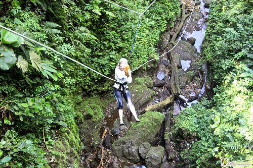 Canyoneering – Waterfall Rappelling in Arenal, Costa Rica