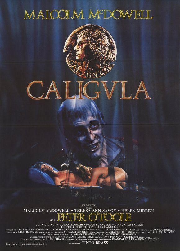 Caligula (Spanish) 11x17 Movie Poster (1980)