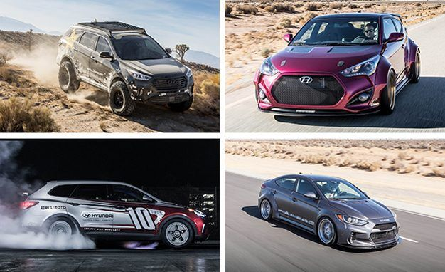 Hyundai Gets in the SEMA Spirit with Spiced-Up Elantra, Veloster, Santa Fe Concepts - https://carparse.co.uk/2016/10/31/hyundai-gets-in-the-sema-spirit-with-spiced-up-elantra-veloster-santa-fe-concepts/
