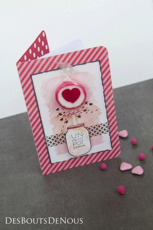 """Carte """"Petit pot d'amour"""" - Des bouts de nous : le blog"""