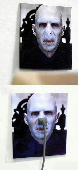 I need a Voldemort socket cover!
