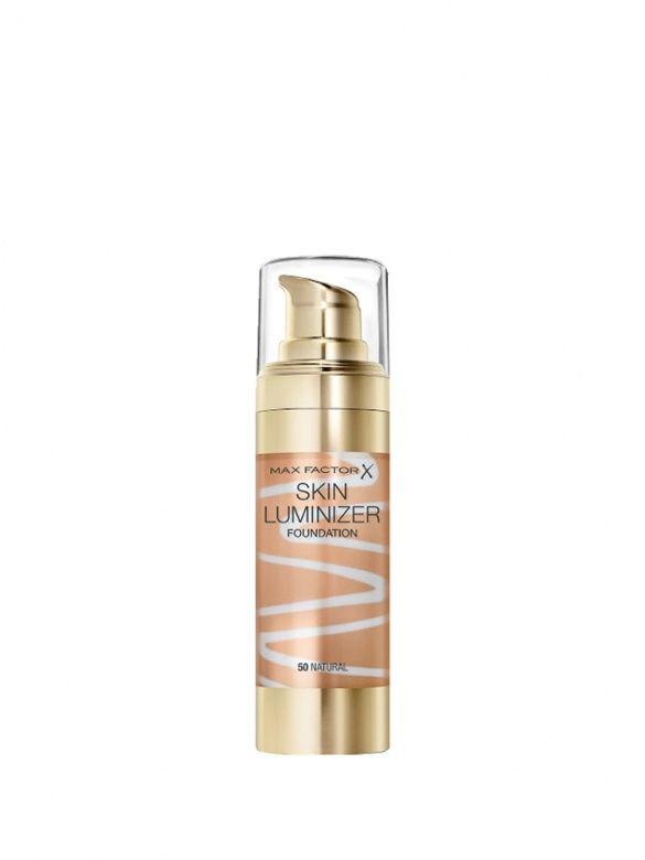 Max Factor - Fond de ten iluminator Skin Luminizer, 050 Natural - Incolor
