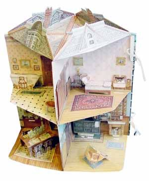 A Three Dimensional Victorian Doll House Designed By Willabel L
