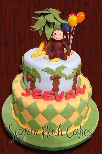 curious george cake 26 best images about cake monkeys on 3237