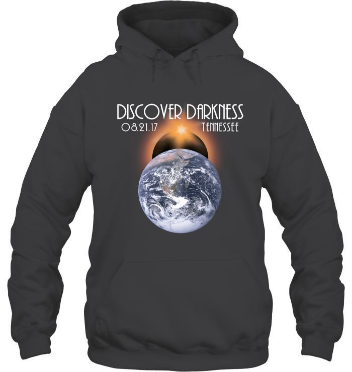 Total Solar Eclipse 2017 - Discover Darkness Tennessee T-shirt