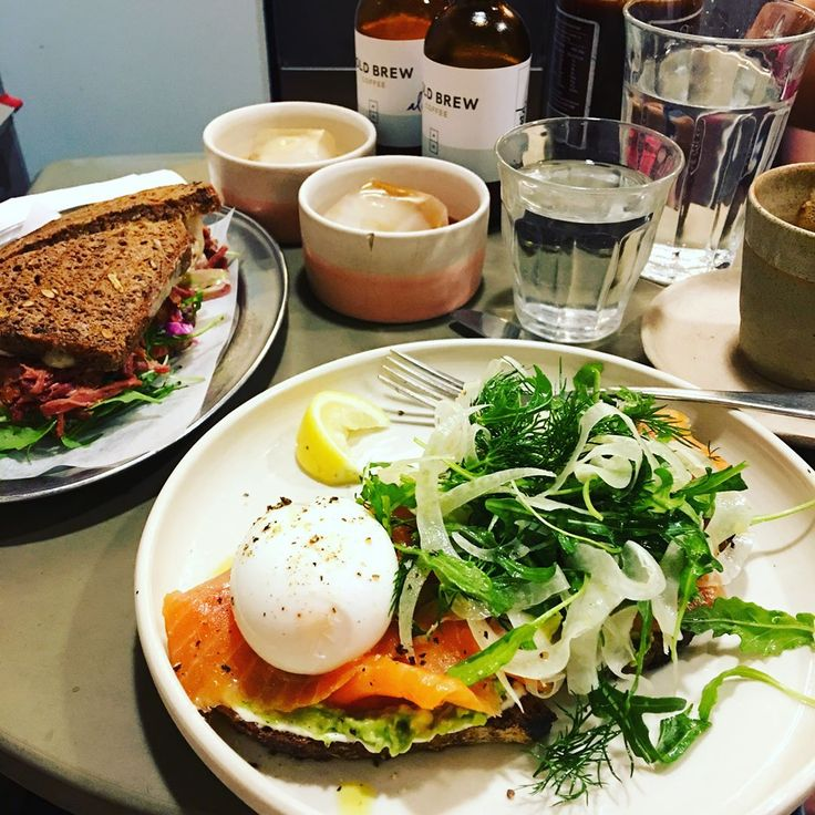 Brunch with my Sis➡️Shopping➡️Cafe Break➡️Thai Dinner. Eating and drinking all day������☕️����'Room 10' in Kings Cross does amazing food including gluten free options!!! Highly recommended!! キンクロの「Room 10」が改築を終えて営業再開。食器も可愛くなって、ご飯もおいしくて、パワーアップしてました。写真はオーシャントラウト、アボカド、ポーチドエッグのオープンサンド。ルッコラとフェンネルのサラダも������#food #weekend #cade #brunch #room10 #kingscross #oceantrout #sandwich #yum #eatingallday #beautifulday #coffee #coldbrew #foodcoma http://w3food.com/ipost/1508653256333838722/?code=BTv0CS5A8mC