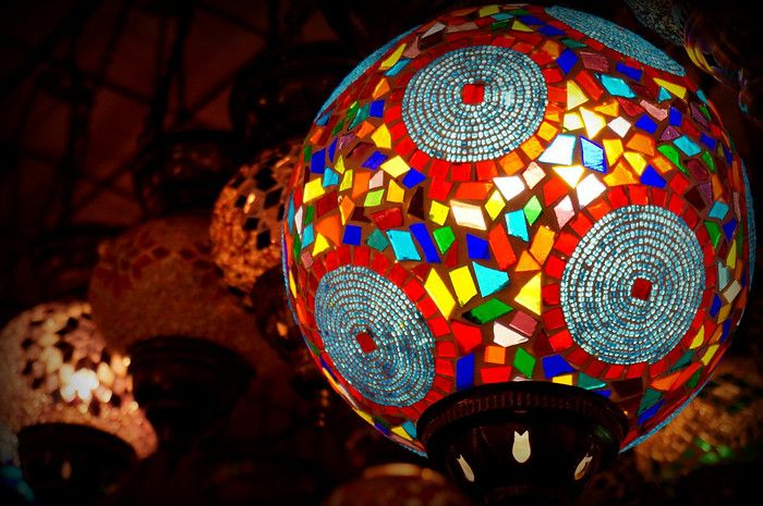 50 Ways to Experience ISTANBUL  Glass mosaic lamps - the perfect souvenir from your visit to Istanbul!