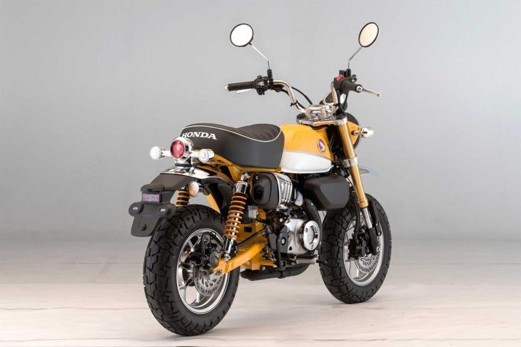 Honda Brings Back Iconic Monkey Motorcycledaily Com Motorcycle News Editorials Product Reviews And Bike Reviews Honda Honda Africa Twin Motorcycle News