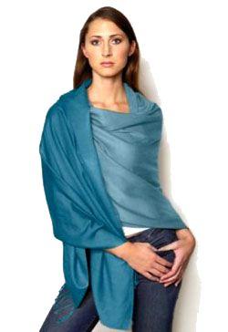 How to wear pashmina shawl
