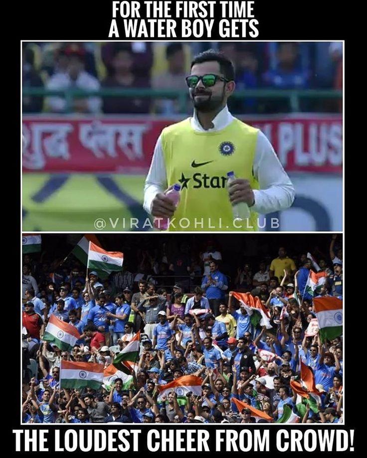 """51.5k Likes, 143 Comments - Virat Kohli (@viratkohli.club) on Instagram: """"Loudest cheer for Virat! ❤️"""""""