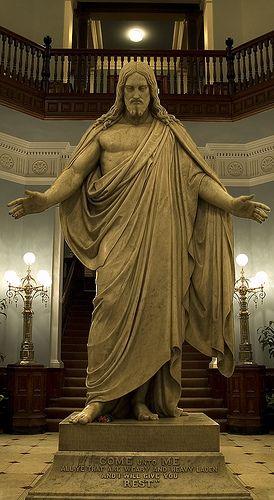 Jesus Statue in Johns Hopkins Hospital by integrity_of_light, via Flickr