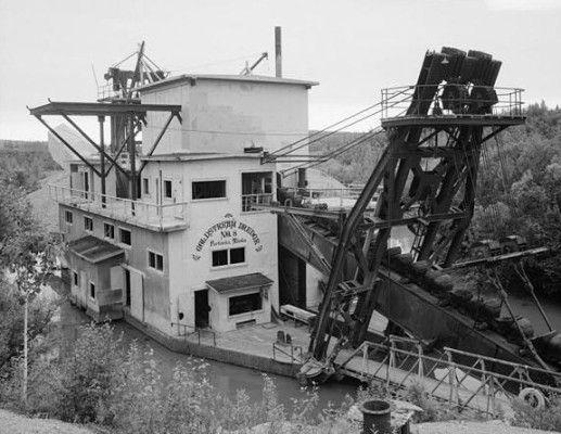 Fairbanks Exploration Company, Goldstream Dredge No. 8, Fox, Fairbanks (North Star Borough, Alaska)