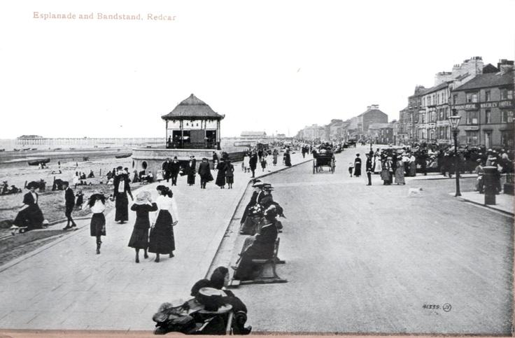 1925 Postcard of Redcar