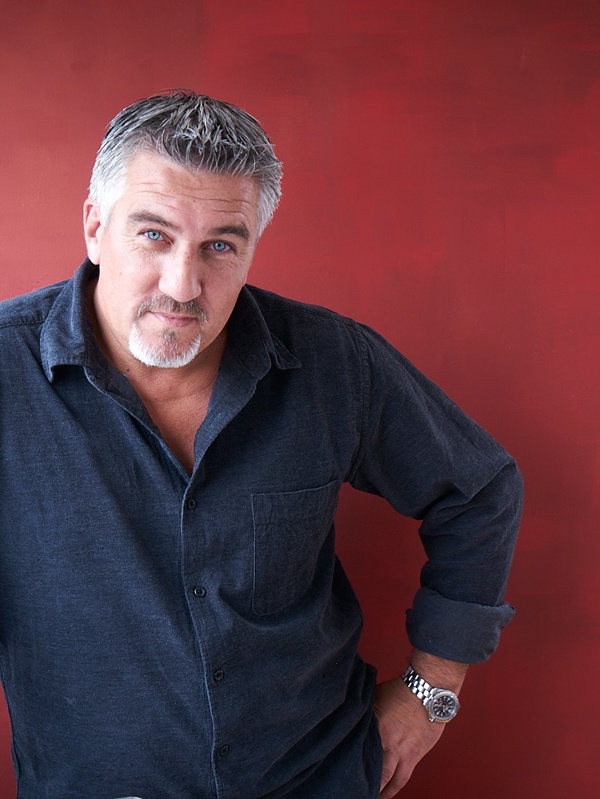 Surprise, but a nice silver Fox, and he bakes!! Paul Hollywood