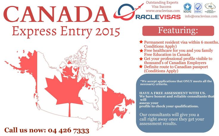 Oracle Visas Canada Express Entry OracleVisas is the brainchild of a team of experts with extensive and in-house experience in the UK and Canadian Immigration Departments. This consultancy has been set up post the retirement of our team members with the vision of helping people to get their visa application processed smoothly. You can be rest assured that you will fully qualify for the chosen visa of your preference with our impartial advice