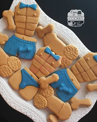 Bridal Shower, Bachelorette, Naughty, Penis Cookies