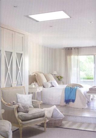 coton et bois decoracin e dormitorio matrimonio