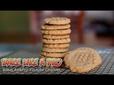 How To Make Flourless Peanut Butter Cookies