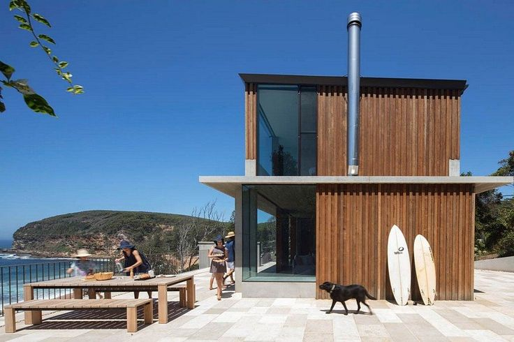 Small Beach House by Polly Harbison Design