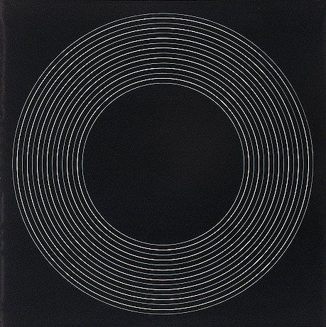 Ralph Hotere, Black Painting Concentric Circles, 1970