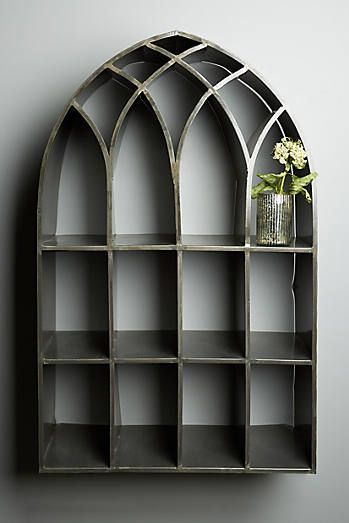 This one is way too expensive, but something just like it. ----- For the bedroom --- Archway Shelf