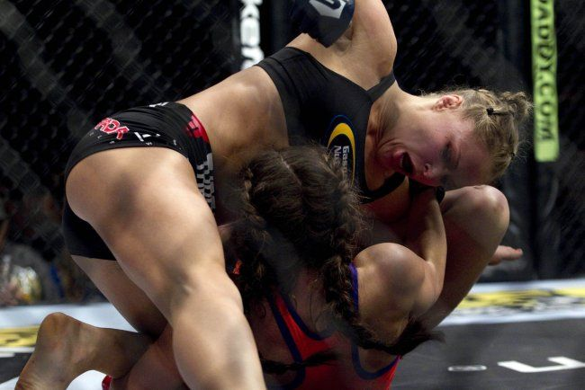 Miesha Tate / Ronda Rousey
