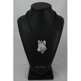 Necklase covered thin layer of silver