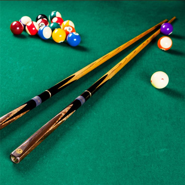 O Min Cobra Handmade 3 4 Jointed Snooker Cues Sticks 10mm