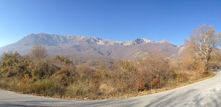 Pinovo Mountain(2.156 m) is located east of Mt Voras and northwest of Mt Paiko,Pella Greece