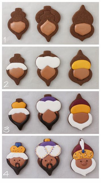 Reyes Magos Navidad Cookies Tutorial | Klickitat calle